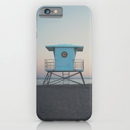 sunset on the coast ... iPhone Case
