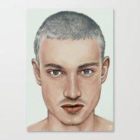 boy Canvas Prints featuring BOY by Laura O'Connor