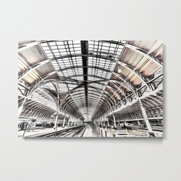 Paddington Railway Station London Metal Print
