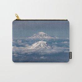 Mount Adams Mt Rainier - PNW Mountains Carry-All Pouch