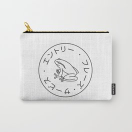 Frog Society Carry-All Pouch