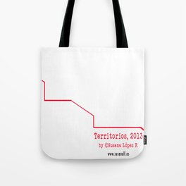 Territorios: Dragon Dance Tote Bag