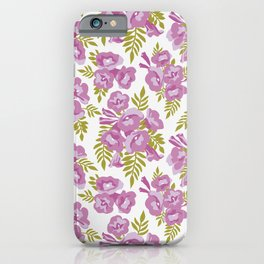 Jacaranda Flowers iPhone Case