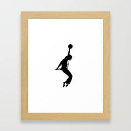#TheJumpmanSeries, MJ Framed Art Print