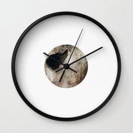 Golden circle Wall Clock