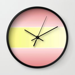 Flag of spain - with color gradient Wall Clock