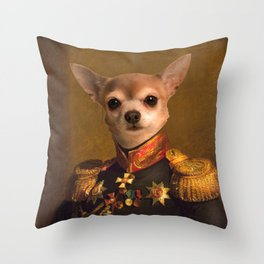 Chiwawa General portrait | Cute Kawaii Throw Pillow
