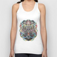 majoras mask Tank Tops featuring Mask by Nicole Linde