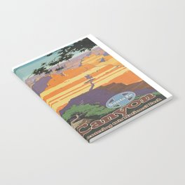 Vintage poster - Grand Canyon Notebook