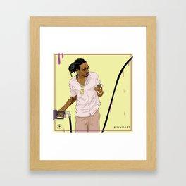 Gas (Quavo) Framed Art Print