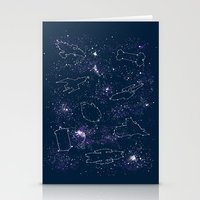 ships Stationery Cards featuring Star Ships by Mandrie