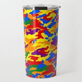Homouflage Gay Stealth Camouflage Travel Mug