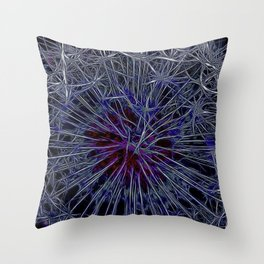 Dandelion Thorns Throw Pillow