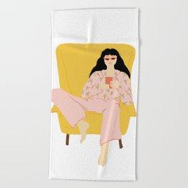 Pyjama Sunday Beach Towel
