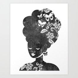 Queen of the Butterflies Art Print
