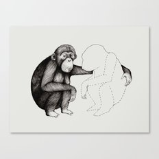 'Gone' Canvas Print