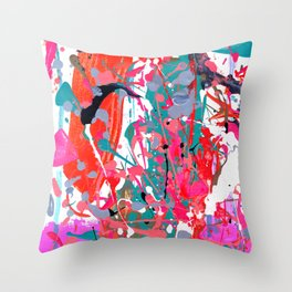 The Space Between Is What Makes It Special Throw Pillow
