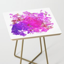 """""""Butterflies And Confetti"""" Side Table"""