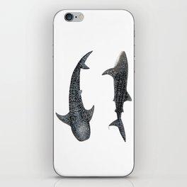 Whale sharks iPhone Skin