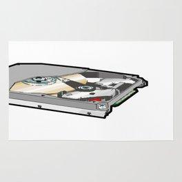 hard disk drive Rug