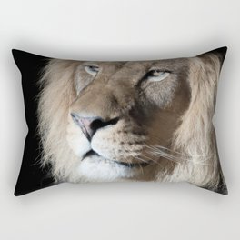 Portrait of a King Rectangular Pillow
