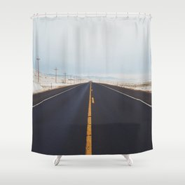 Endless Road Shower Curtain
