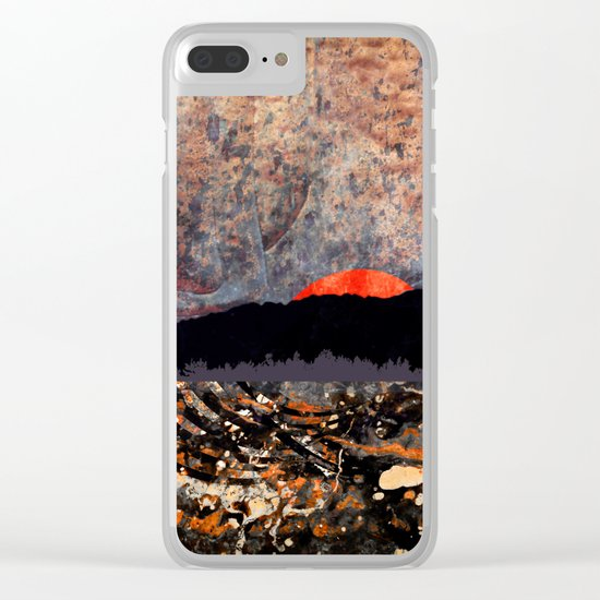 Afternoon Glow Clear iPhone Case