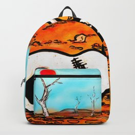 Dead heart of rock and roll Backpack