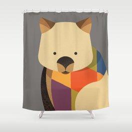 Wombat Shower Curtain