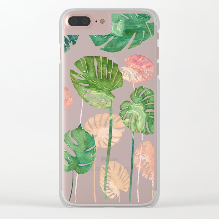 tropical creation II Clear iPhone Case