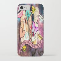 sky ferreira iPhone & iPod Cases featuring Sky Ferreira by ♡♡Transparent Mess♡♡
