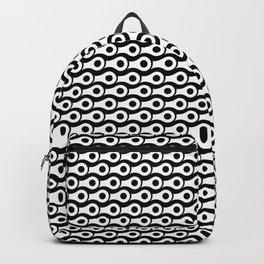 BIKE CHAIN B&W  Backpack
