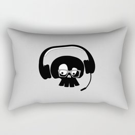 Skull (aka Spec's) Gammer Rectangular Pillow