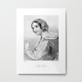 Lady Percy Victorian Reproduction Metal Print