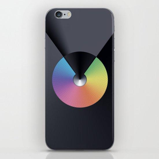 RAINBOW METALS iPhone & iPod Skin