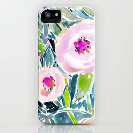 Ballerina Blow Out Floral iPhone Case