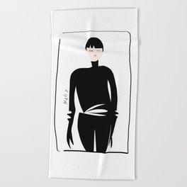 Style Spy Beach Towel