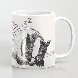 Snoozy Badger Coffee Mug