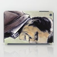 the walking dead iPad Cases featuring The Walking Dead by Zombie Rust