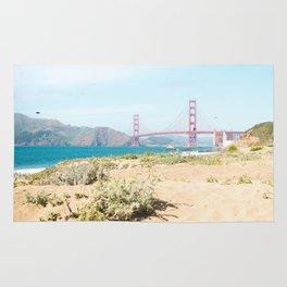 Golden Gate Bridge Beach Rug