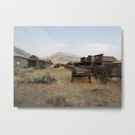 Old Trail Town Metal Print