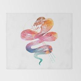 Spirit of the Cobra Throw Blanket