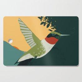 Ruby-Throated Hummingbird Cutting Board