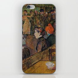 "Henri de Toulouse-Lautrec ""Ball at the Moulin de la Galette"" iPhone Skin"