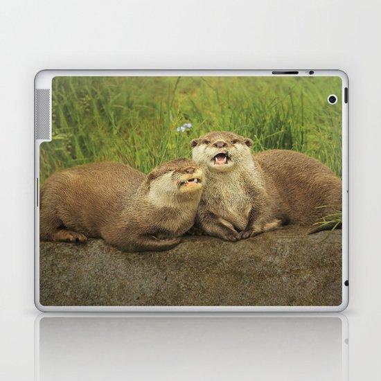 Mr & Mrs Otter Laptop & iPad Skin