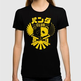 Panda Club Logo Design (Yellow) T-shirt