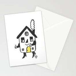 House on the Go! Stationery Cards