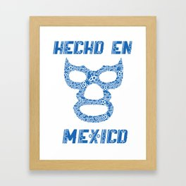 blue demon Framed Art Print