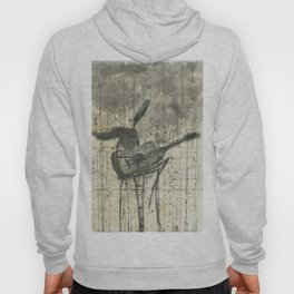 """GUITAR. A SERIES OF WORKS """"MUSIC OF THE RAIN"""" Hoody"""