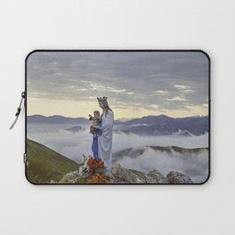 Vierge d'Orisson; Camino Frances Laptop Sleeve